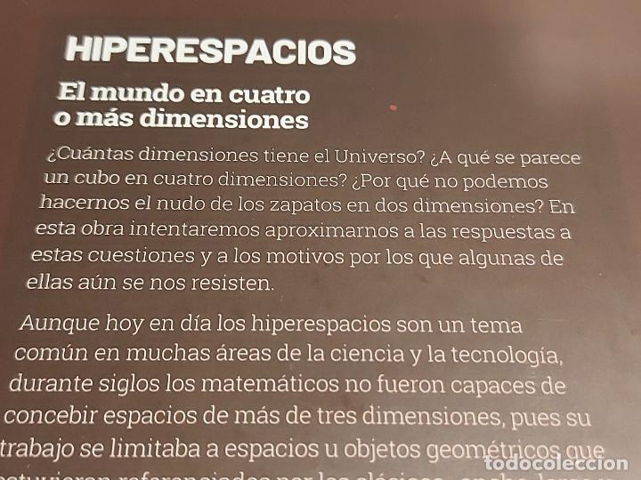 Libros: GRANDES IDEAS DE LAS MATEMÁTICAS / 23 / HIPERESPACIOS / PRECINTADO A ESTRENAR. - Foto 2 - 251546525