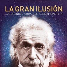 Libros: LA GRAN ILUSIÓN. LAS GRANDES OBRAS DE ALBERT EINSTEIN. STEPHEN HAWKING. CRITICA.. Lote 235817340