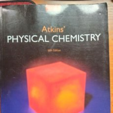 Libros: ATKINS´ PHYSICAL CHEMISTRY, 10TH EDITION. OXFORD UNIVERSITY PRESS.. Lote 236935360