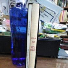 Livres: MEMORIA ELEMENTAL SOBRE LOS NUEVOS PESOS Y MEDIDAS DECIMALES-GABRIEL CISCAR. LOS 2 TOMOS EN CAJETIN.. Lote 237480065