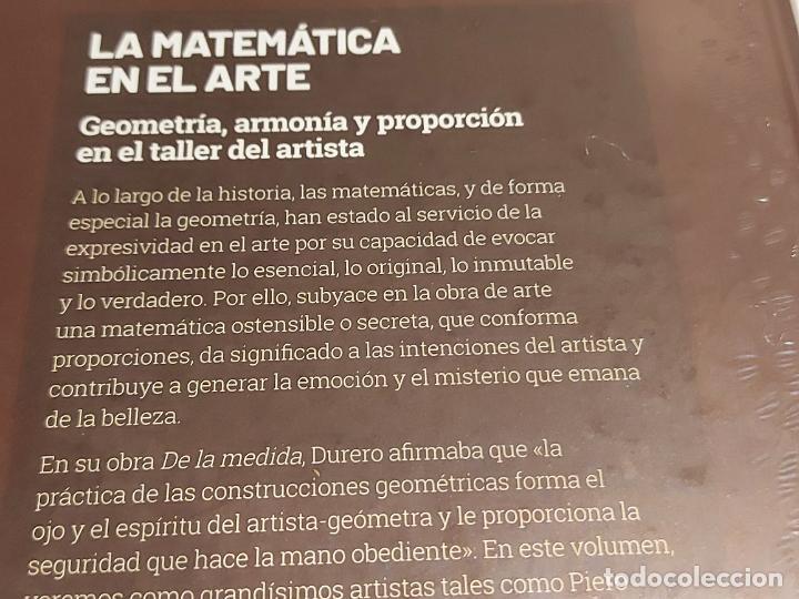 Libros: GRANDES IDEAS DE LAS MATEMÁTICAS / 10 / LA MATEMÁTICA EN EL ARTE / PRECINTADO A ESTRENAR. - Foto 2 - 264332836