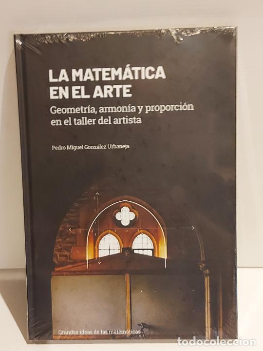 GRANDES IDEAS DE LAS MATEMÁTICAS / 10 / LA MATEMÁTICA EN EL ARTE / PRECINTADO A ESTRENAR. (Libros Nuevos - Ciencias, Manuales y Oficios - Física, Química y Matemáticas)