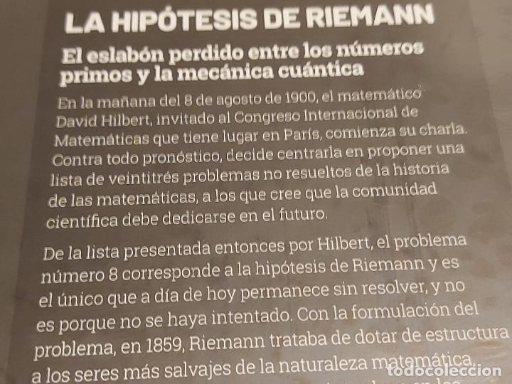 Libros: GRANDES IDEAS DE LAS MATEMÁTICAS / 24 / LA HIPÓTESIS DE RIEMANN / PRECINTADO A ESTRENAR. - Foto 2 - 262876475