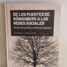 Libros: GRANDES IDEAS DE LAS MATEMÁTICAS / 18 / DE LOS PUENTES DE KÖNIGSBERG... / PRECINTADO A ESTRENAR.. Lote 237742440