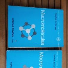 Livros: QUÍMICA UNED, MACROMOLÉCULAS. Lote 239258230