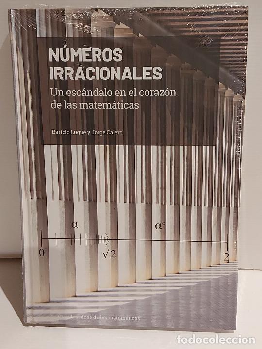 GRANDES IDEAS DE LAS MATEMÁTICAS / 3 / NÚMEROS IRRACIONALES / PRECINTADO A ESTRENAR. (Libros Nuevos - Ciencias, Manuales y Oficios - Física, Química y Matemáticas)
