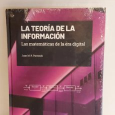 Libros: GRANDES IDEAS DE LAS MATEMÁTICAS / 32 / LA TEORÍA DE LA INFORMACIÓN / PRECINTADO A ESTRENAR.. Lote 245213200