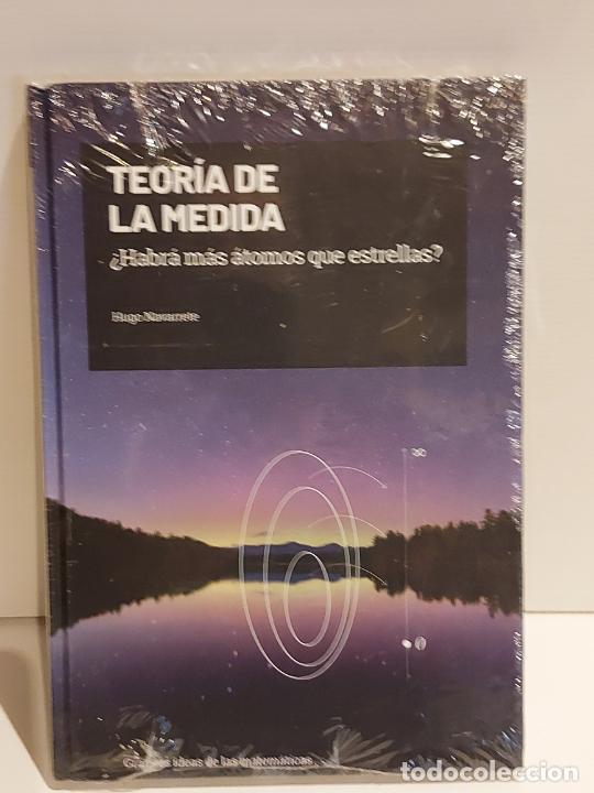 GRANDES IDEAS DE LAS MATEMÁTICAS / 25 / TEORÍA DE LA MEDIDA / PRECINTADO A ESTRENAR. (Libros Nuevos - Ciencias, Manuales y Oficios - Física, Química y Matemáticas)