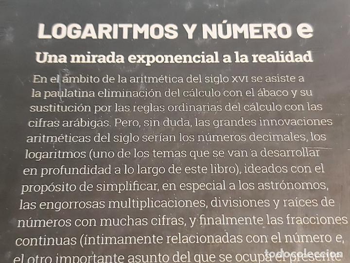 Libros: GRANDES IDEAS DE LAS MATEMÁTICAS / 13 / LOGARITMOS Y NÚMERO e / PRECINTADO A ESTRENAR. - Foto 2 - 245213315