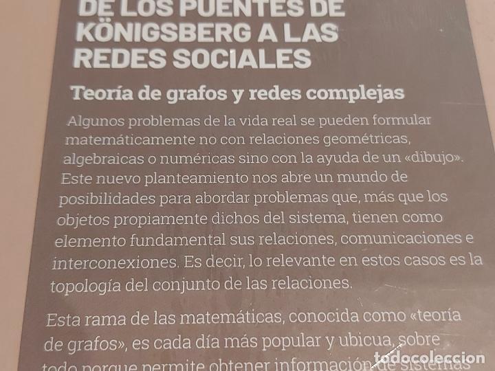 Libros: GRANDES IDEAS DE LAS MATEMÁTICAS / 18 / DE LOS PUENTES DE KÖNIGSBERG... / PRECINTADO A ESTRENAR. - Foto 2 - 262876625