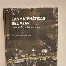 Livres: GRANDES IDEAS DE LAS MATEMÁTICAS / 17 / LAS MATEMÁTICAS DEL AZAR / PRECINTADO A ESTRENAR.. Lote 245213465