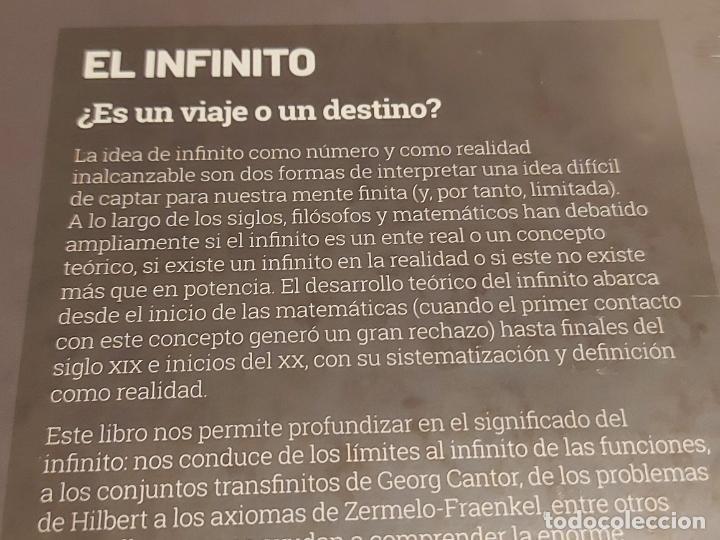 Libros: GRANDES IDEAS DE LAS MATEMÁTICAS / 2 / EL INFINITO / PRECINTADO A ESTRENAR. - Foto 2 - 251546775