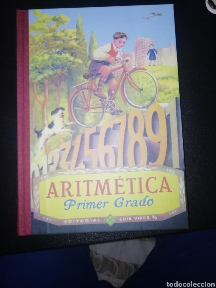 ARITMÉTICA. PRIMER GRADO. EDELVIVES. EDITORIAL LUIS VIVES 1947 (REEDICION) (Libros Nuevos - Ciencias, Manuales y Oficios - Física, Química y Matemáticas)