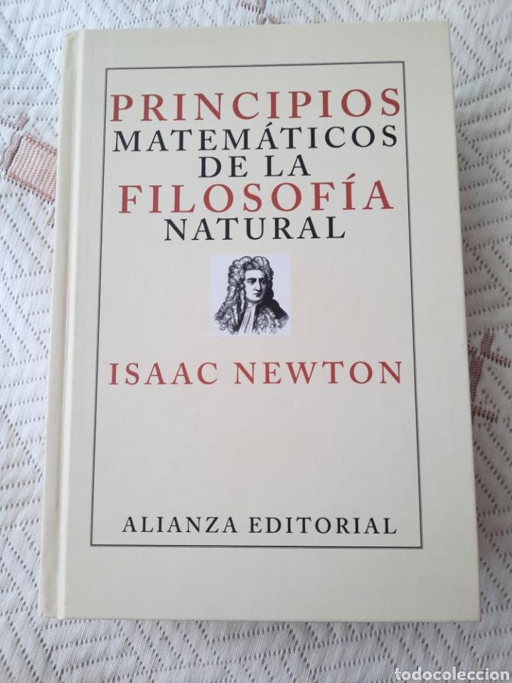 NEWTON: PRINCIPIOS MATEMÁTICOS DE LA FILOSOFÍA NATURAL (Libros Nuevos - Ciencias, Manuales y Oficios - Física, Química y Matemáticas)