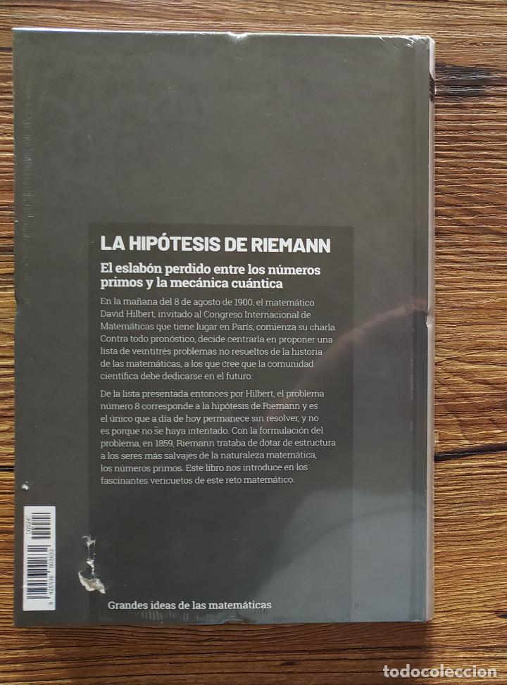 Libros: GRANDES IDEAS DE LAS MATEMÁTICAS 24 / LA HIPÓTESIS DE RIEMANN (PRECINTADO) - Foto 2 - 275891963