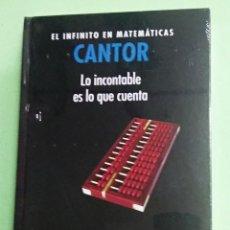 Livres: EL INFINITO EN MATEMATICAS. LO INCONTABLE ES LO QUE CUENTA.CANTOR- RBA. GRANDES IDEAS DE LA CIENCIA. Lote 257690795