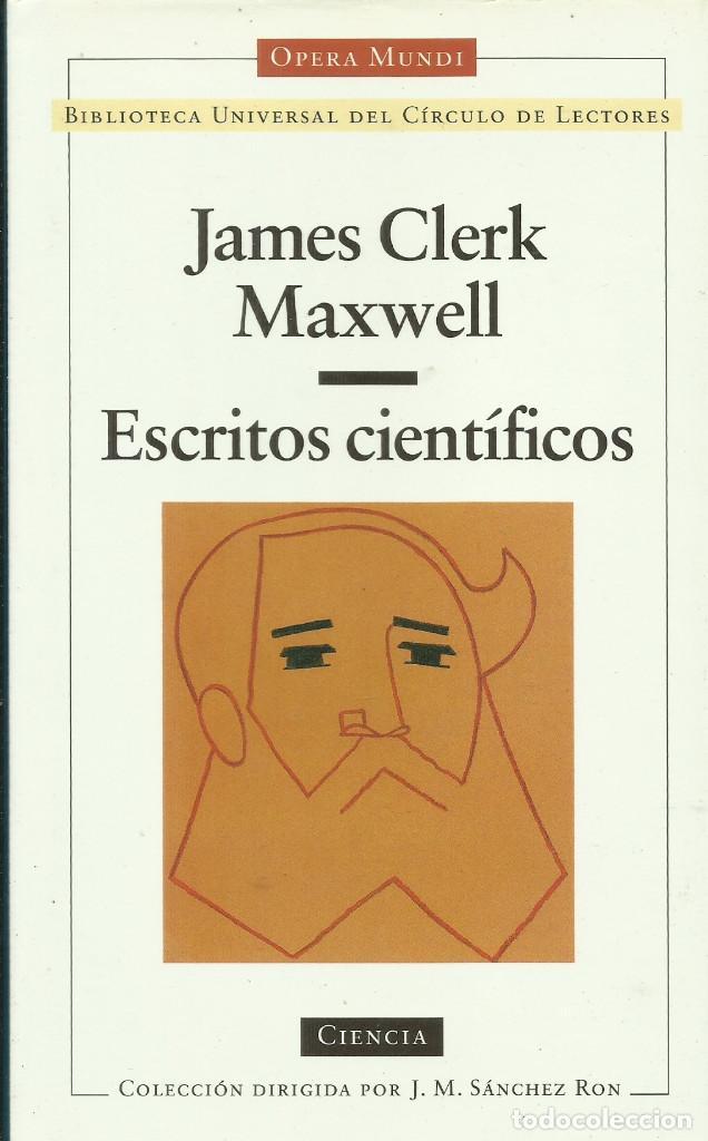 ESCRITOS CIENTÍFICOS / ESCRITOS CIENTÍFICOS. (Libros Nuevos - Ciencias, Manuales y Oficios - Física, Química y Matemáticas)
