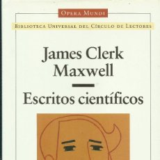 Libros: ESCRITOS CIENTÍFICOS / ESCRITOS CIENTÍFICOS.. Lote 262527690