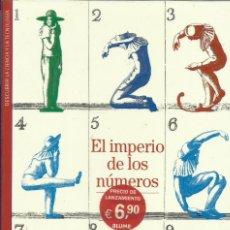 Libros: EL IMPERIO DE LOS NÚMEROS.. Lote 262686940