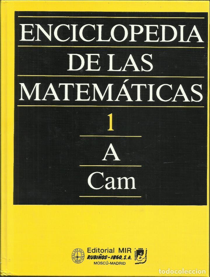 ENCICLOPEDIA DE LAS MATEMÁTICAS DE LA URSS. EDIT. MIR. (13 VOLÚMENES) - TAPA DURA – 1993 (Libros Nuevos - Ciencias, Manuales y Oficios - Física, Química y Matemáticas)
