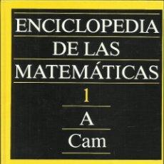 Libros: ENCICLOPEDIA DE LAS MATEMÁTICAS (13 VOLÚMENES) - OBRA COMPLETA - TAPA DURA – 1 ENERO 1993. Lote 262817615