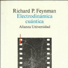 Libros: ELECTRODINÁMICA CUÁNTICA / RICHARD FEYNMAN.. Lote 262862430