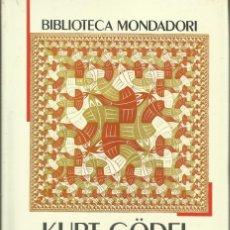Libros: ENSAYOS INÉDITOS / KURT GÖDEL.. Lote 262864075