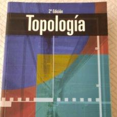Livres: MUNKRES: TOPOLOGIA. Lote 265756139