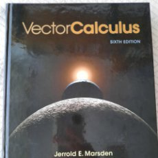Libros: MARSDEN Y TROMBA: VECTOR CALCULUS. Lote 266732063