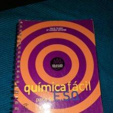 Libros: QUÍMICA FÁCIL, DAVID TEJERO,M°CARMEN UNTURBE,COLECCIÓN CHULETAS, ESPASA-CALPE ,2001. Lote 267528624