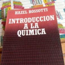 Libros: INTRODUCCIÓN A LA QUÍMICA. Lote 269415693