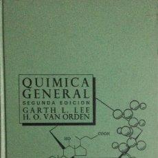 Libros: QUIMICA GENERAL. GARTH L. LEE. INTERAMERICANA. NUEVO. Lote 136573894