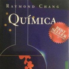 Libros: QUIMICA. (6 EDICION). RAYMOND CHANG. MCGRAWHILL. NUEVO. Lote 150361394