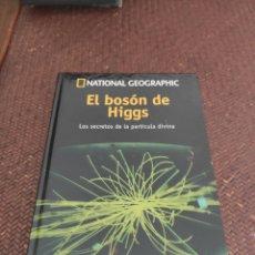 Libros: EL BOSÓN DE HIGGS LOS SECRETOS DE LA PARTÍCULA DIVINA. Lote 271558113