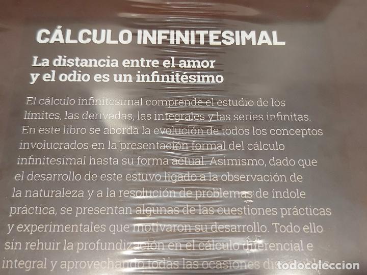 Libros: GRANDES IDEAS DE LAS MATEMÁTICAS / 15 / CÁLCULO INFINITESIMAL / PRECINTADO A ESTRENAR. - Foto 2 - 276713173