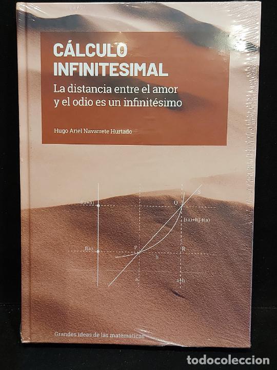 GRANDES IDEAS DE LAS MATEMÁTICAS / 15 / CÁLCULO INFINITESIMAL / PRECINTADO A ESTRENAR. (Libros Nuevos - Ciencias, Manuales y Oficios - Física, Química y Matemáticas)