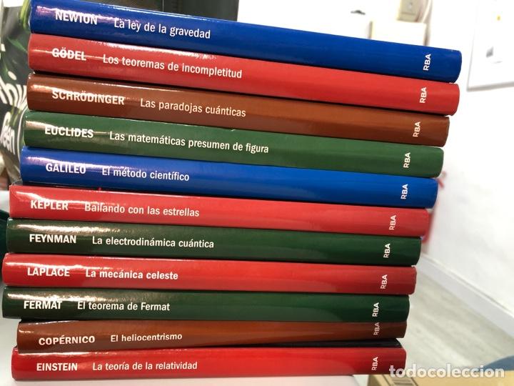 LOTE LIBROS CIENCIA: EINSTEIN GALILEO EUCLIDES KEPLER NEWTON FERMAT COPERNICO GÖDEL… (Libros Nuevos - Ciencias, Manuales y Oficios - Física, Química y Matemáticas)