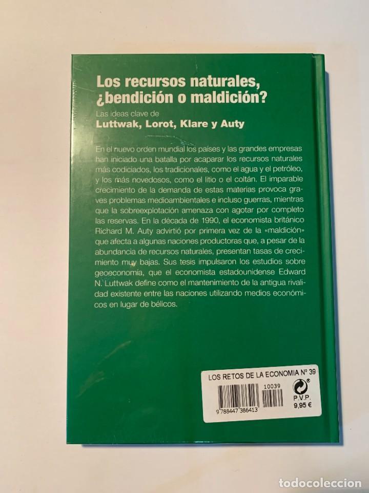 Libros: COLECCIÓN LOS RETOS DE LA ECONOMÍA - LOS RECURSOS NATURALES - NUEVO - Foto 2 - 287352503