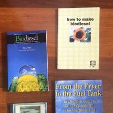 Libros: 3 LIBROS Y CD CÓMO HACER BIODIESEL. Lote 287917203