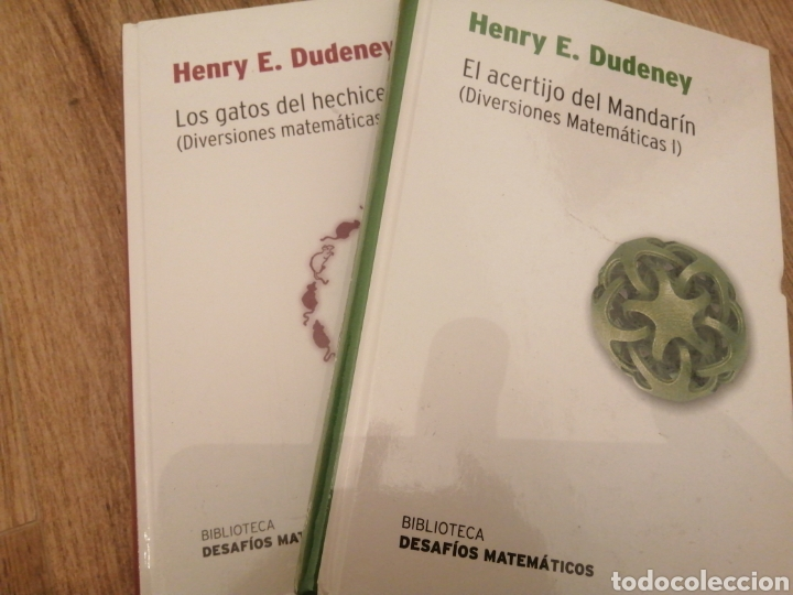 LOS ACERTIJOS DEL MANDARÍN Y LOS GATOS DEL HECHICERO (Libros Nuevos - Ciencias, Manuales y Oficios - Física, Química y Matemáticas)