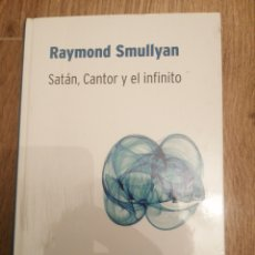 Libros: SATÁN, CANTOR Y EL INFINITO. Lote 288723163