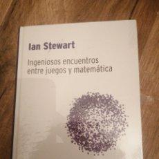 Libros: INGENIOSOS ENCUENTROS ENTRE JUEGOS Y MATEMÁTICA. Lote 288724143
