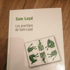 Libros: LOS ACERTIJOS DE SAN LOYD. Lote 288724878