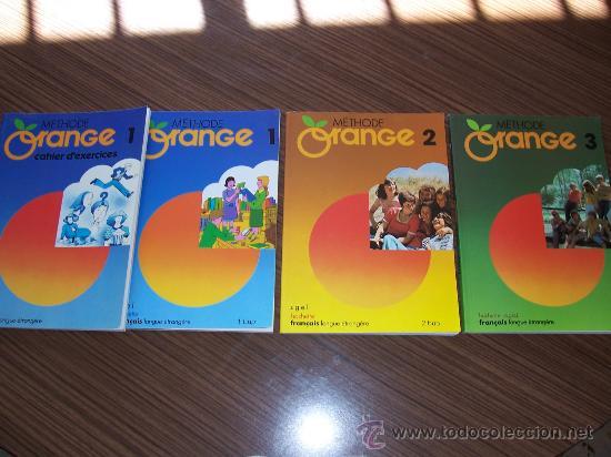 ORANGE 1-2 Y 3 EL 1 CON LIBRO DE ACTIVIDADES (Libros Nuevos - Idiomas - Francés)