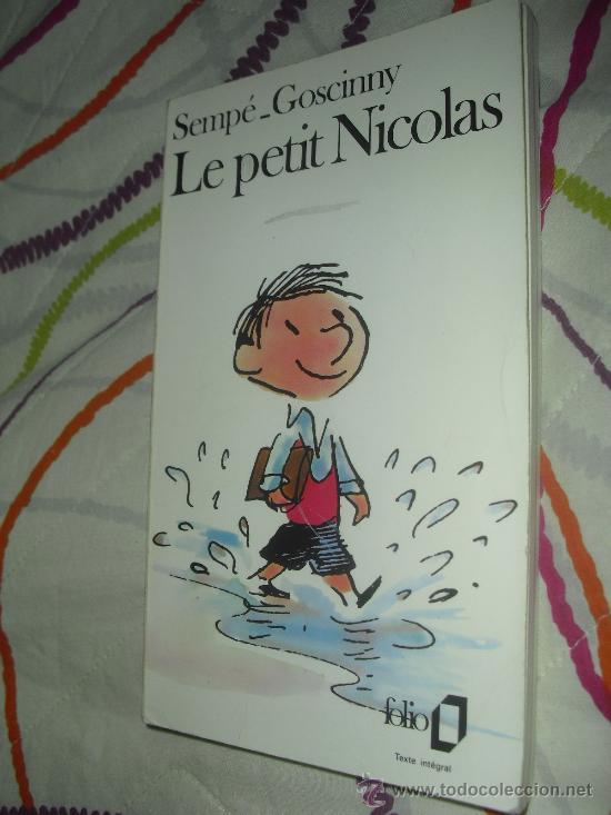 LE PETIT NICOLAS - SEMPÉ ET GOSCINNY - FOLIO 1988 - EN FRANCÉS (Libros Nuevos - Idiomas - Francés)
