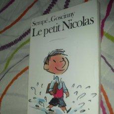 Libros: LE PETIT NICOLAS - SEMPÉ ET GOSCINNY - FOLIO 1988 - EN FRANCÉS. Lote 29899476