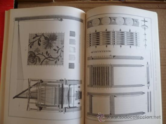 Libros: L'ENCYCLOPÉDIE DIDEROT ET D'ALEMBERT - L'ART DE LA SOIE / INTER LIVRES (en francés-ver fotos). - Foto 3 - 32527407