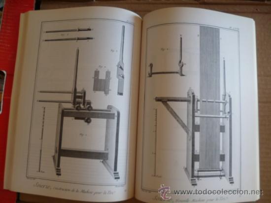 Libros: L'ENCYCLOPÉDIE DIDEROT ET D'ALEMBERT - L'ART DE LA SOIE / INTER LIVRES (en francés-ver fotos). - Foto 4 - 32527407