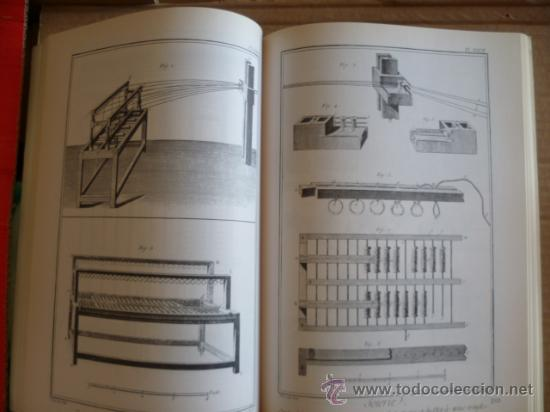 Libros: L'ENCYCLOPÉDIE DIDEROT ET D'ALEMBERT - L'ART DE LA SOIE / INTER LIVRES (en francés-ver fotos). - Foto 7 - 32527407