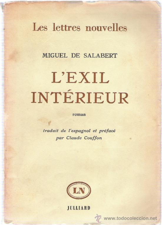 L´EXIL INTERIEUR - MIGUEL DE SALABERT - (Libros Nuevos - Idiomas - Francés)